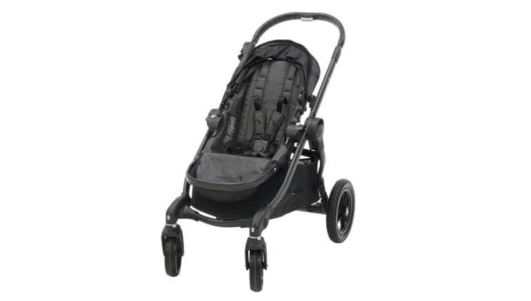 be351af97 Opinión de CR: El City Select de Baby Jogger es una carriola adaptable que  crece con tu hijo, o con tu familia. El cochecito estándar está diseñado  para ...