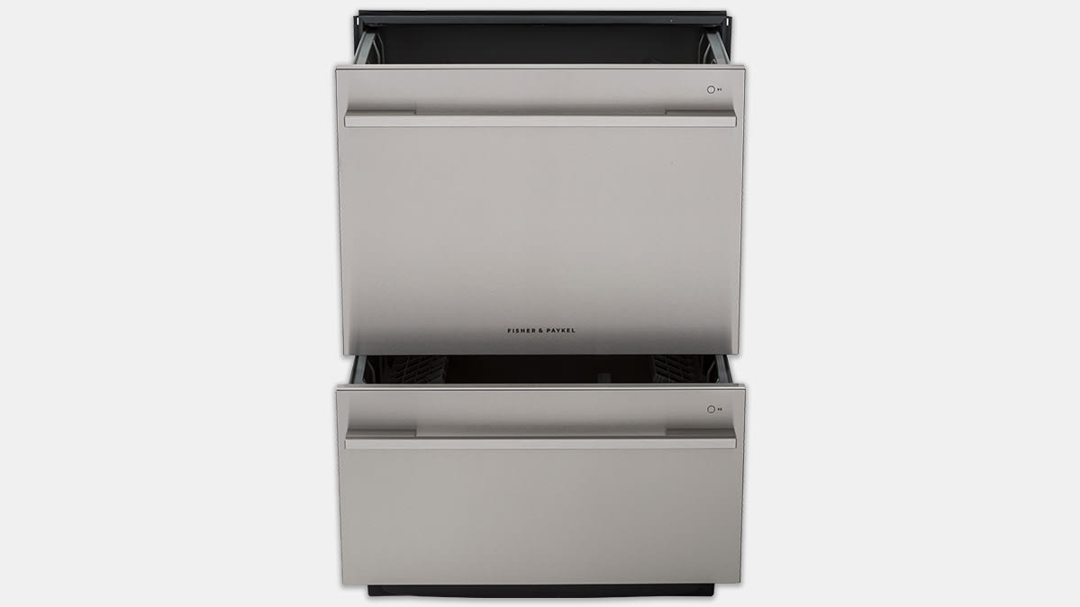 Cr S Take The Fisher Paykel Dd24ddftx9n Features Two Drawers With Ger One Stacked On Top They Fit In A 24 Inch Wide Opening