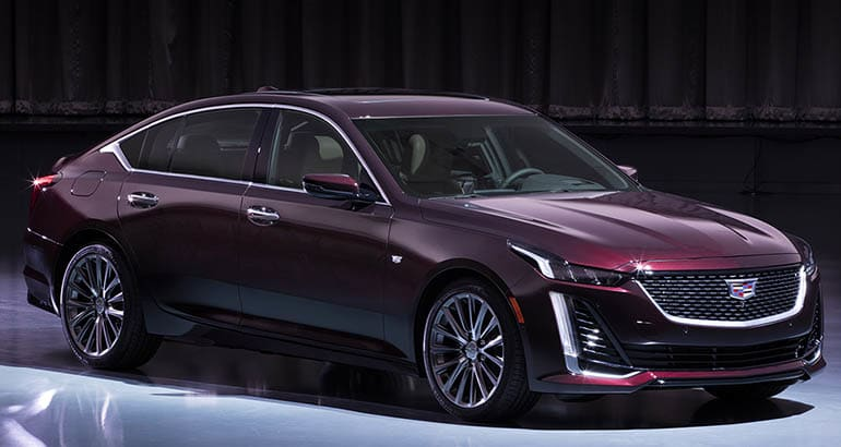 2020 Cadillac CT5 front