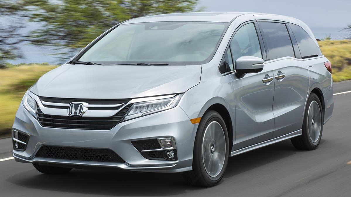 A 2019 Honda Odyssey