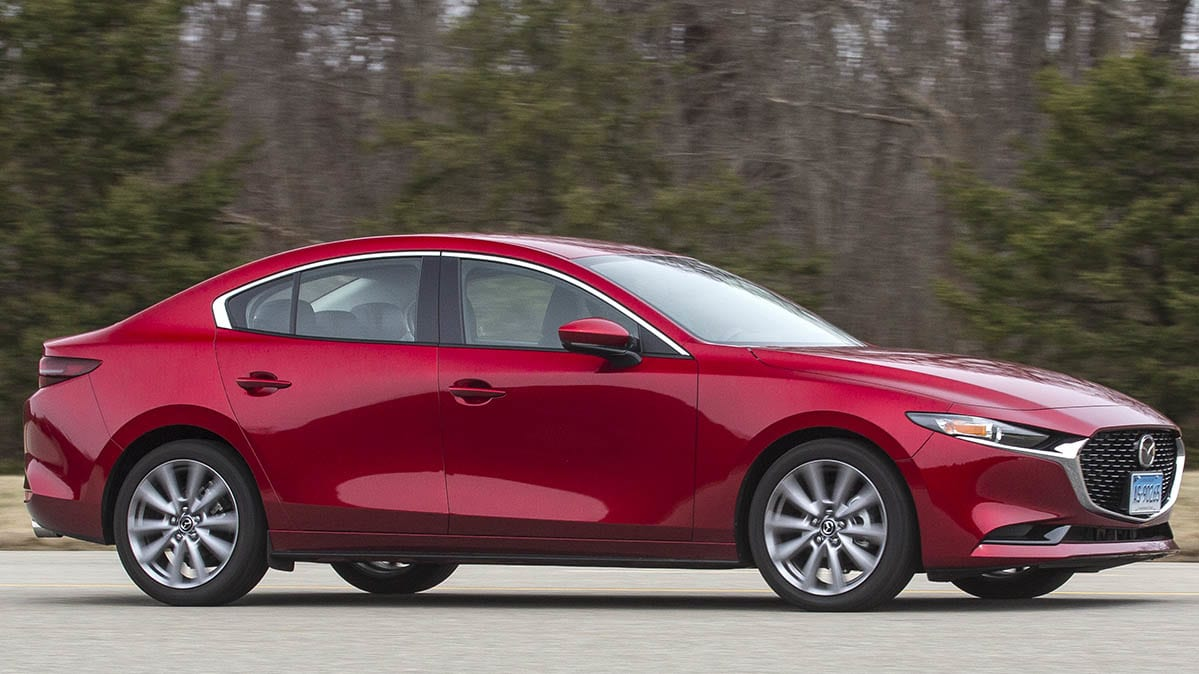 2019 Mazda3 Front Driving