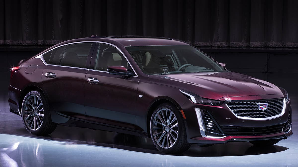 Stylish 2020 Cadillac CT5 Sedan Unveiled