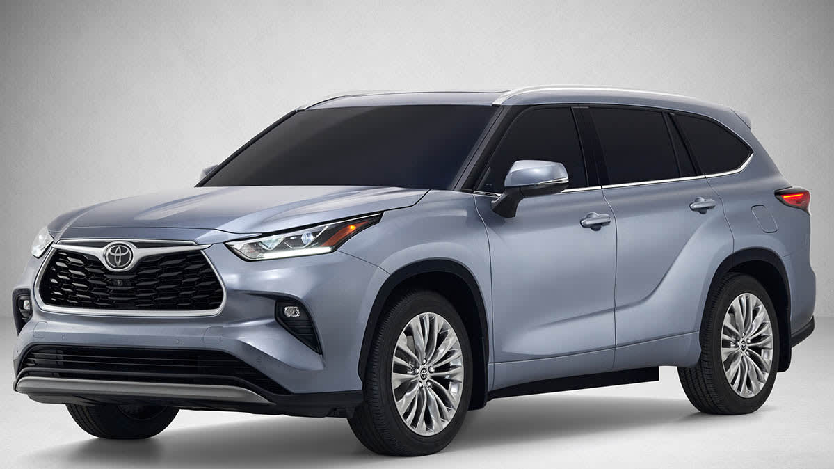 All-New 2020 Toyota Highlander Is Sleek and Efficient