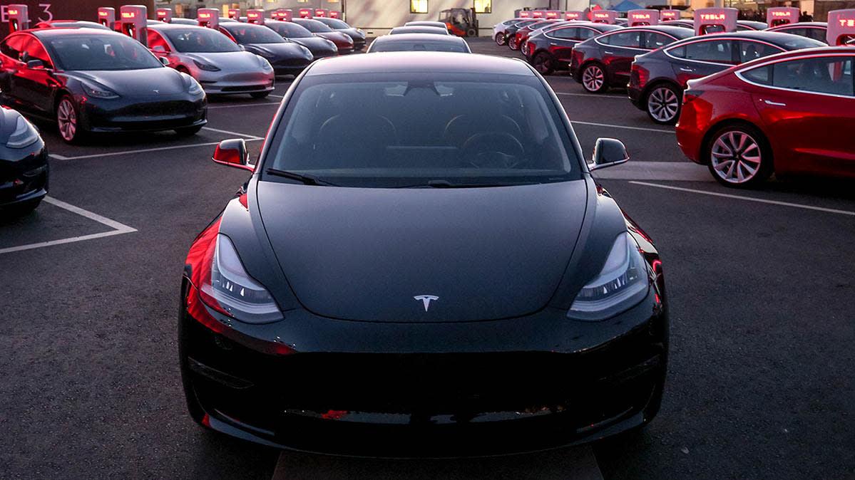 The 35 000 Tesla Model 3