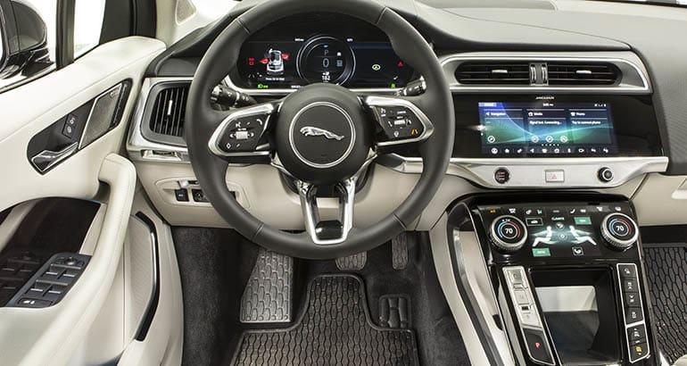 2019 Jaguar I Pace Interior
