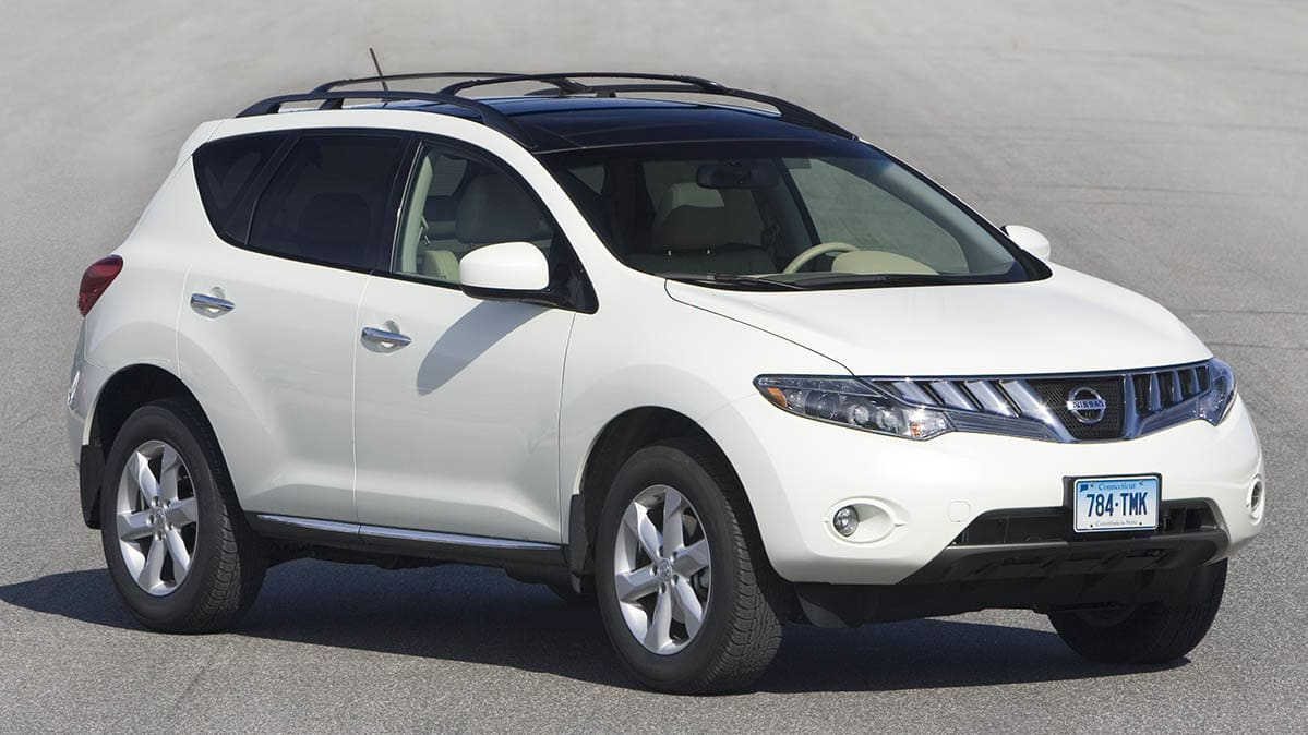 Nissan Murano Is Recalled for Braking Issue