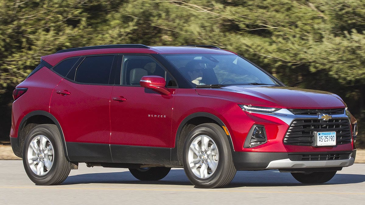 All-New 2019 Chevrolet Blazer Is No Bulky Brute - Consumer ...