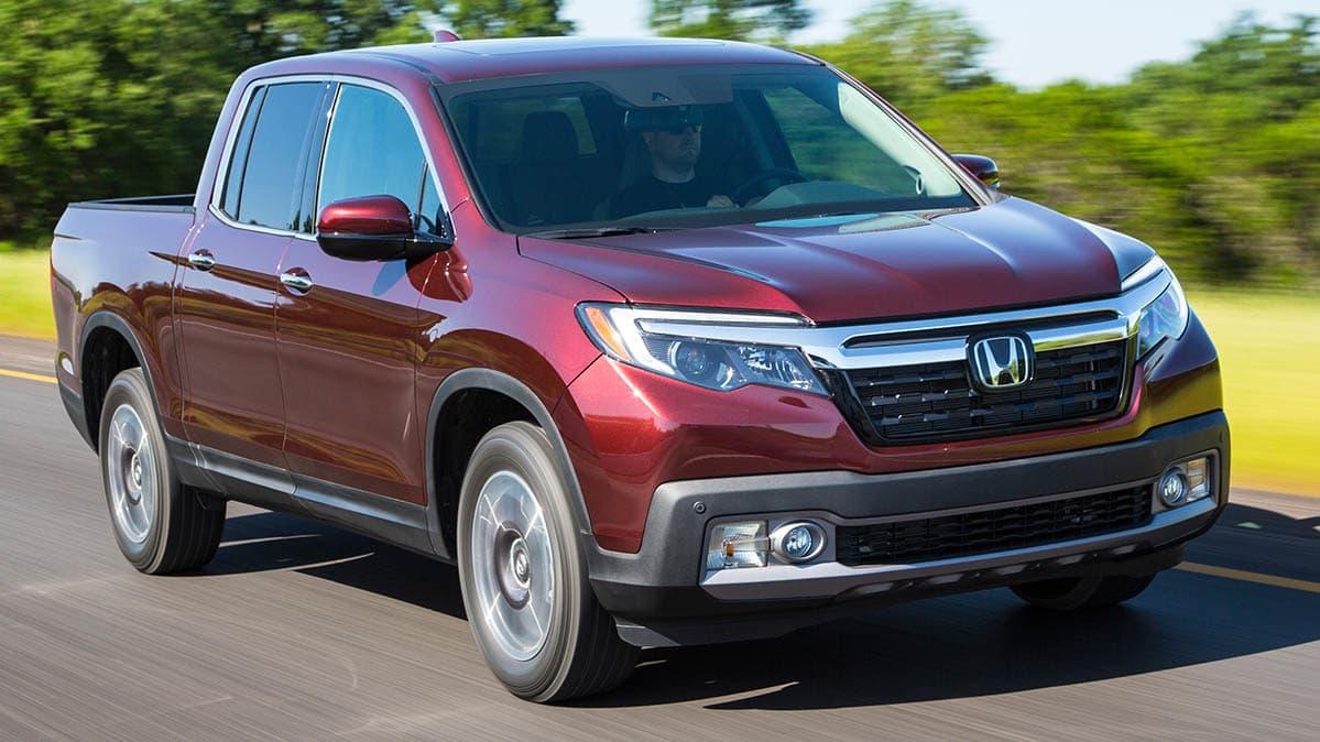 Honda Ridgeline Recall Front Driving
