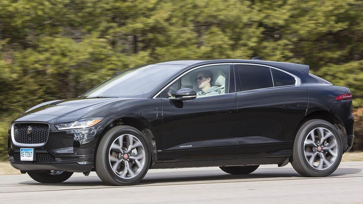 2019 Jaguar I Pace Front Driving
