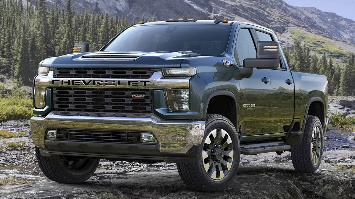 Gmc Takes The Wraps Off The New 2020 Sierra Heavy Duty In San Diego