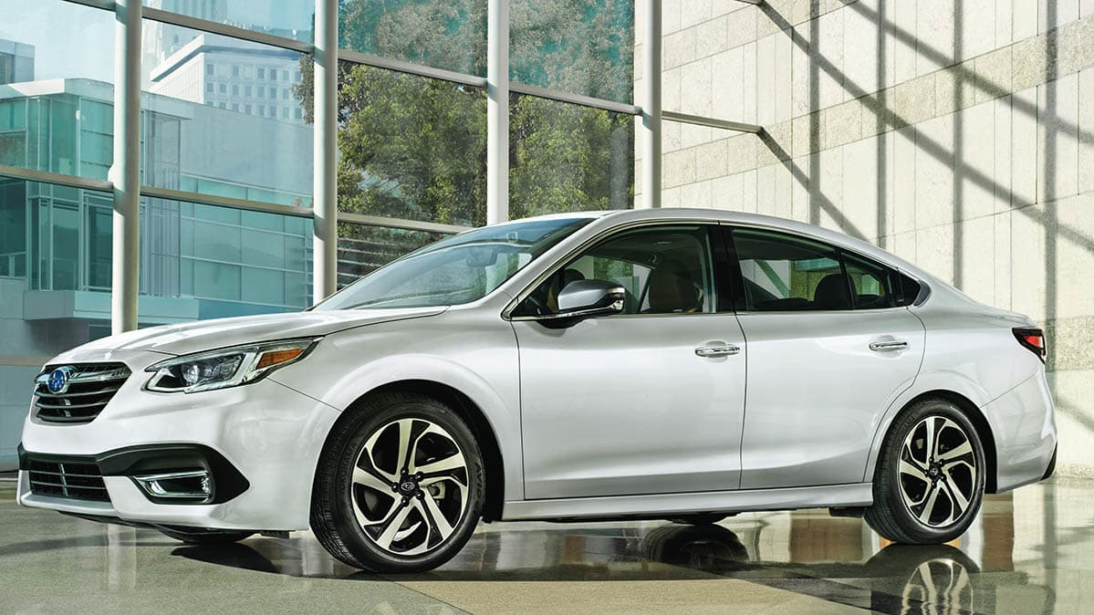 Subaru Legacy Looks Predictable, Features Lots More Technology