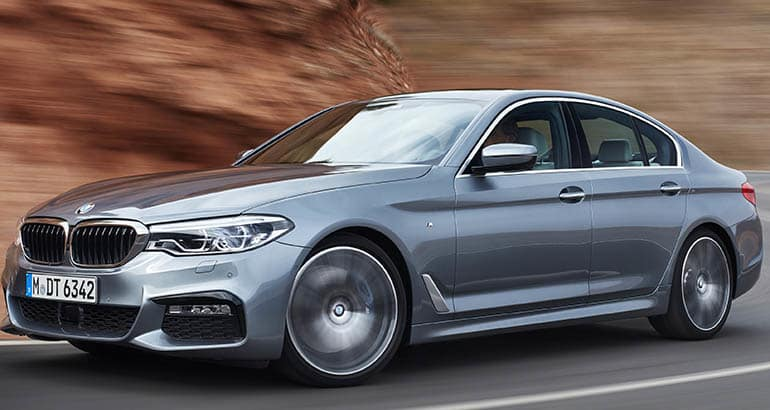 BMW 5 Series - Best Cars for Downsizing Families