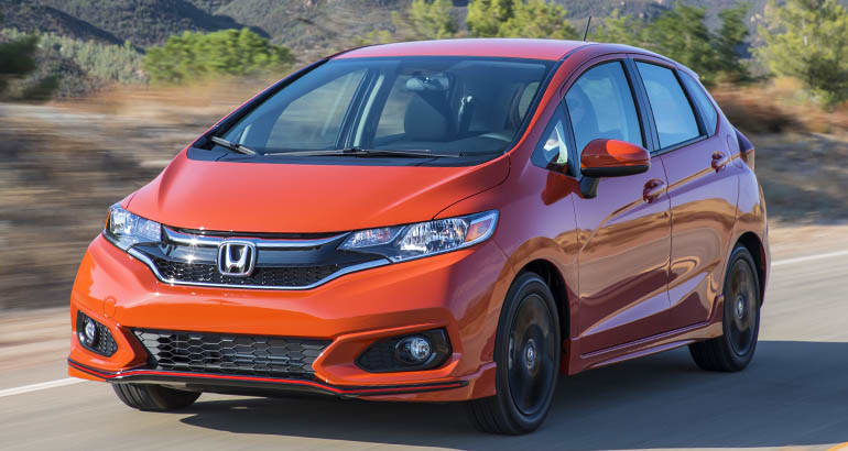 Honda Fit - Best Cars for Teen Drivers