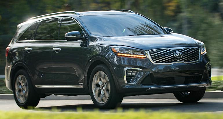 Kia Sorento - Best Cars for Savvy Seniors