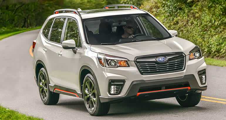 Subaru Forester Best Cars For Savvy Seniors