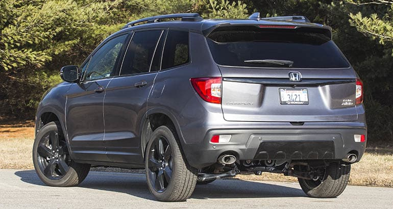 All New 2019 Honda Passport Lacks Pizzazz Consumer Reports