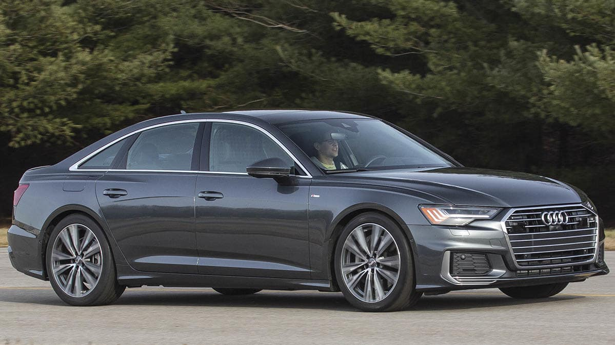 2019 Audi A6 front driving
