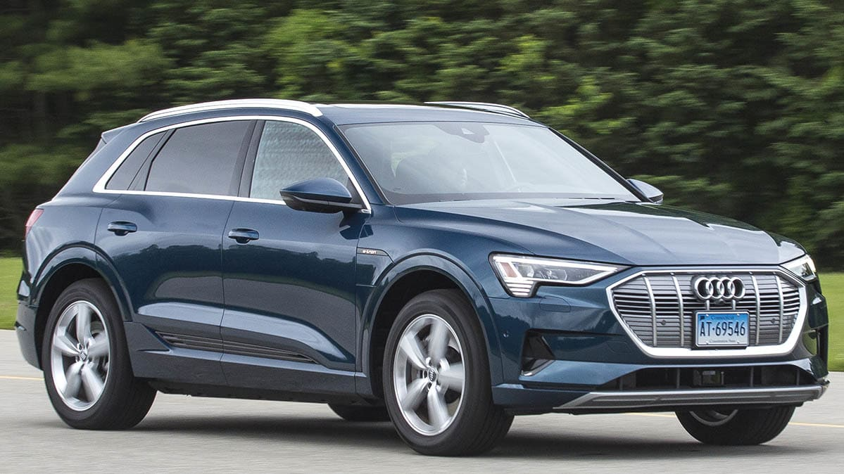 2019 Audi E Tron Takes Charge Among New Evs Consumer Reports