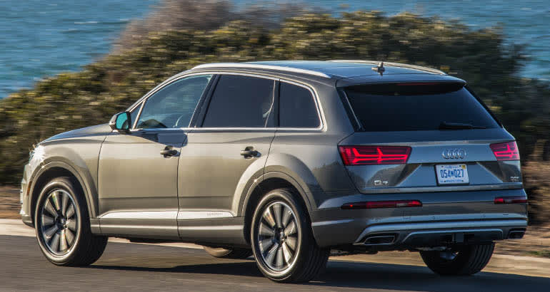 2017 Audi Q7 is included in the Audi recall