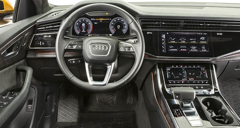 2019 Audi Q8 Is Sleek Luxurious And Appealing Consumer Reports