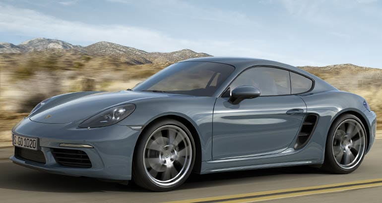 Porsche recall includes the Cayman
