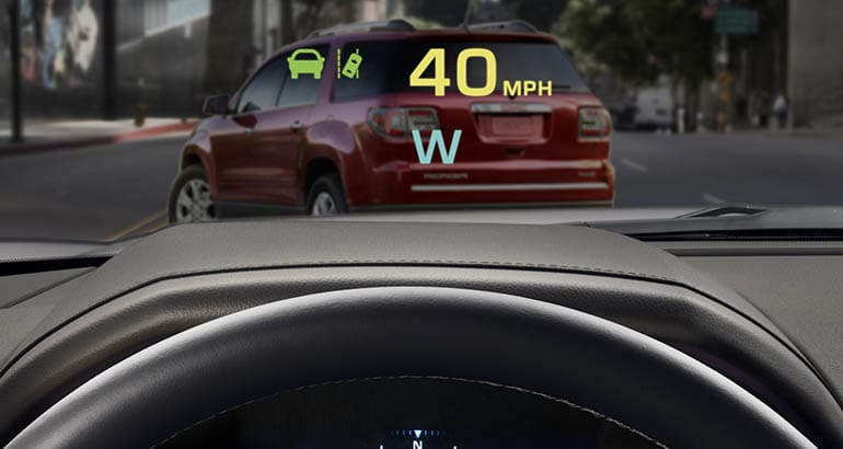 Must-Have Car Feature: Head-up display