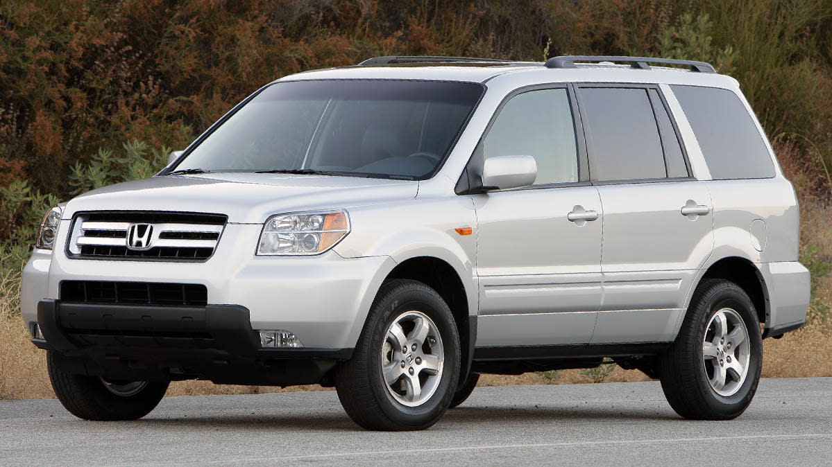 Honda Takata Recall includes the 2008 Honda Pilot.