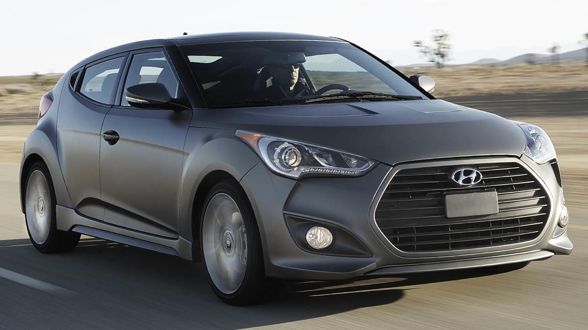 Hyundai Veloster Recall Involves The 2017 Turbo