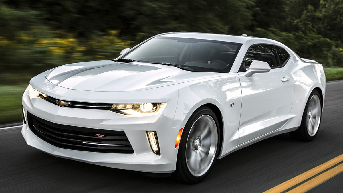 2017 Chevrolet Camaro included in the power steering recall