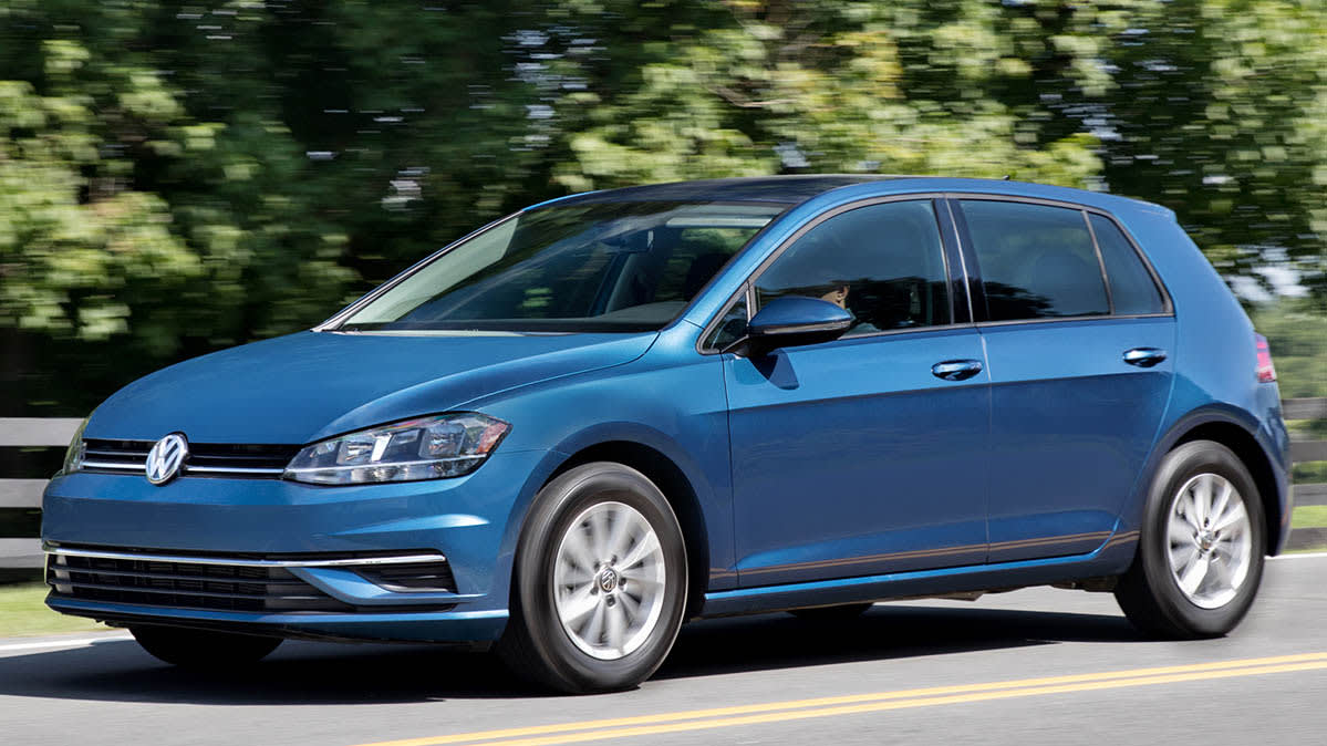 Volkswagen Recall For Rear Coil Springs Involves The Vw Golf