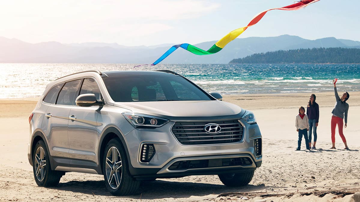 Car deals for Memorial Day: 2019 Hyundai Santa Fe XL
