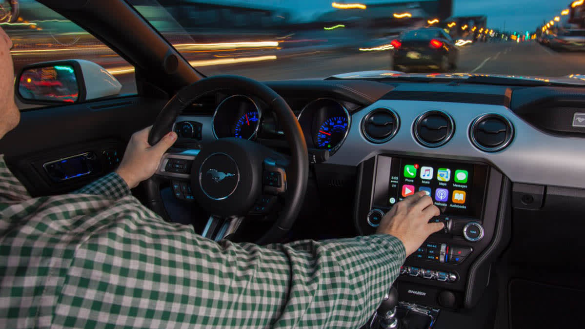 Must-have car feature: Apple CarPlay.