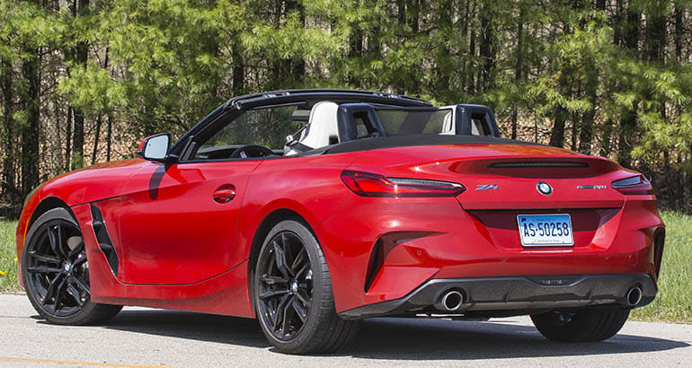 Reborn 2019 Bmw Z4 Delivers Top Down Thrills Consumer Reports