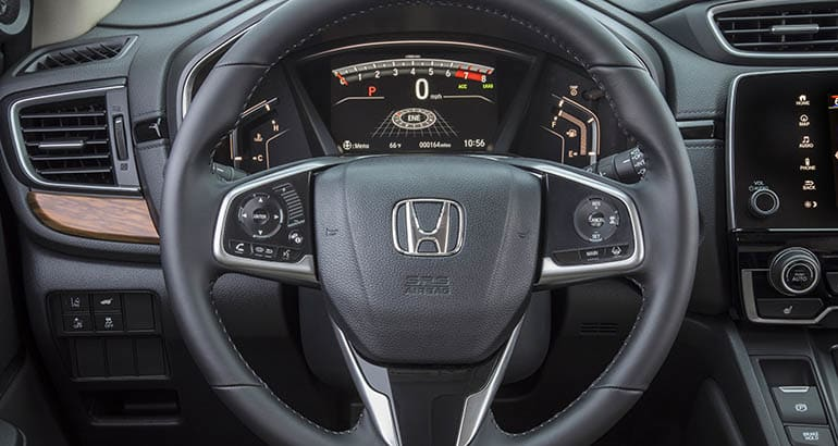 Honda CR-V recall for 2019 models due to steering wheel airbag concerns
