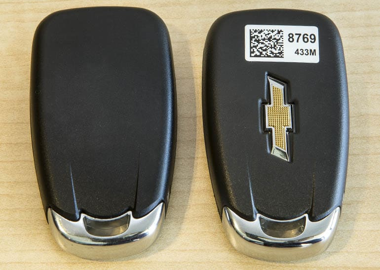 Chevrolet Key Fob replacement