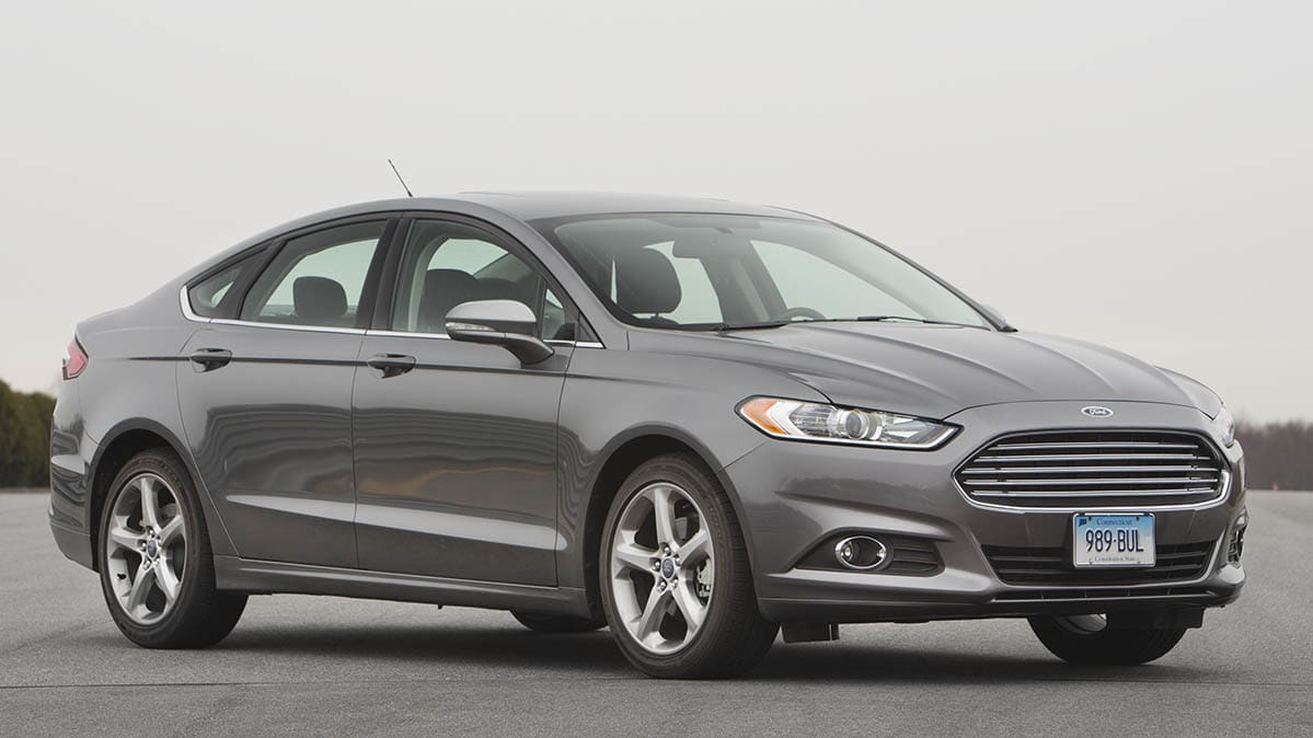 2017 Ford Fusion Included In The Recall