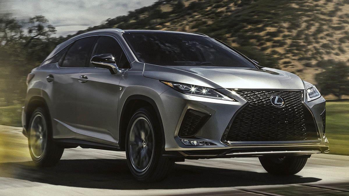 2020 Lexus RX Gets Much Needed Updates