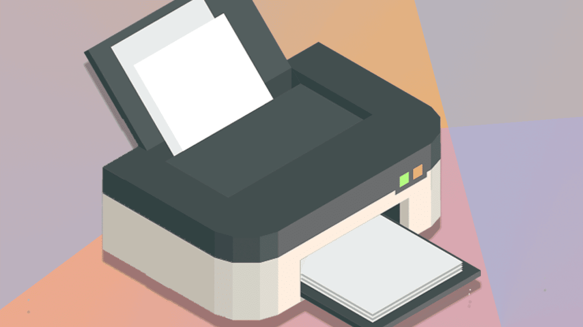 An illustration of a printer.