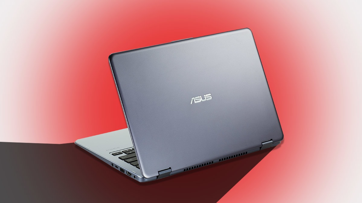 An Asus laptop for an article on the ShadowHammer malware attack.