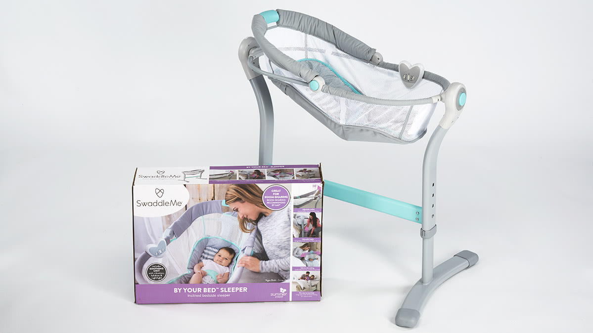 The SwaddleMe By Your Bed Sleeper is marketed primarily for sleep