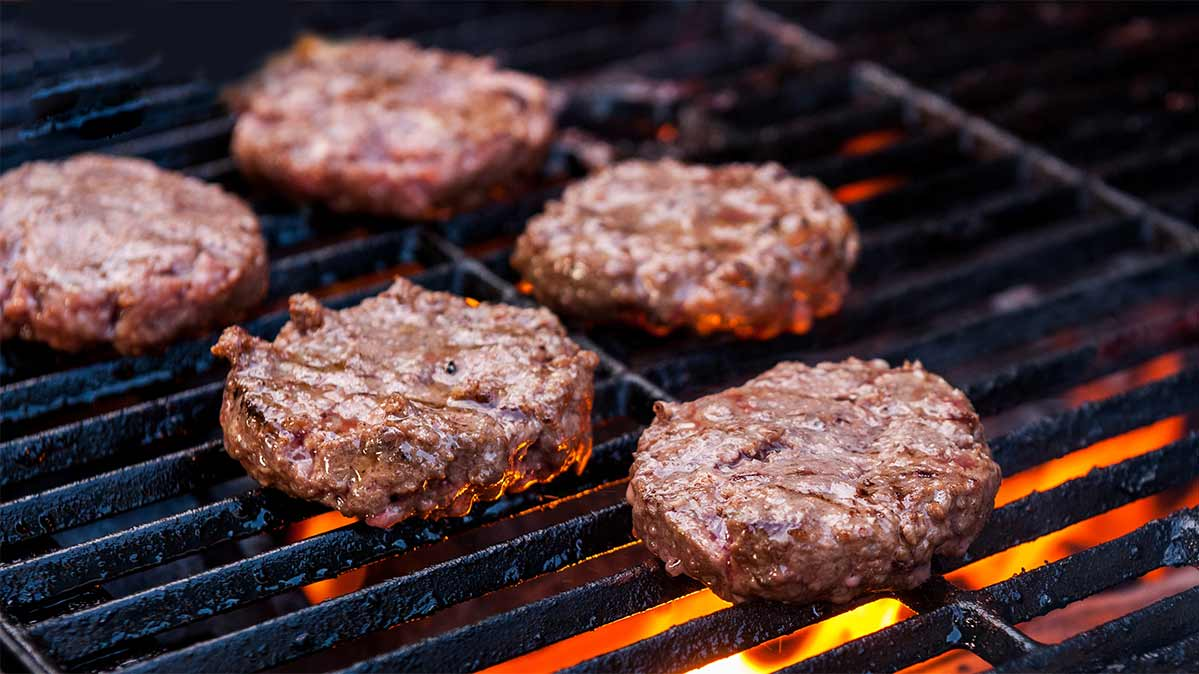 How to Prep and Cook Hamburgers Safely