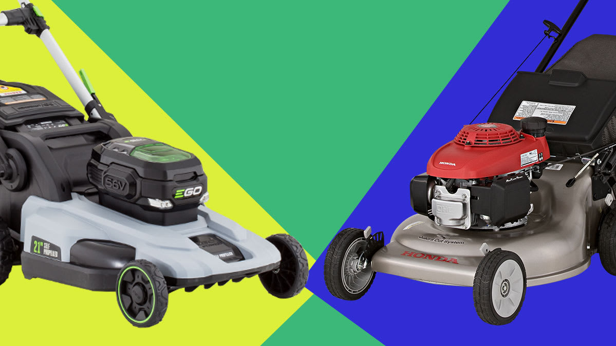 Best Battery Lawn Mower 2020 Ego Electric Mower vs. Honda Gas Mower   Consumer Reports