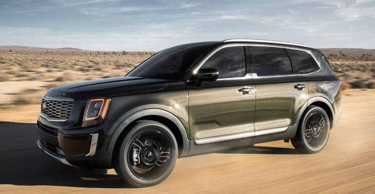 Cars Worth Waiting For, including the Kia Telluride