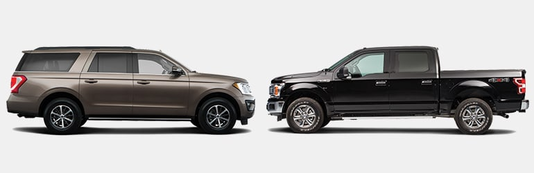 Large Suvs Vs Full Sized Pickup Trucks