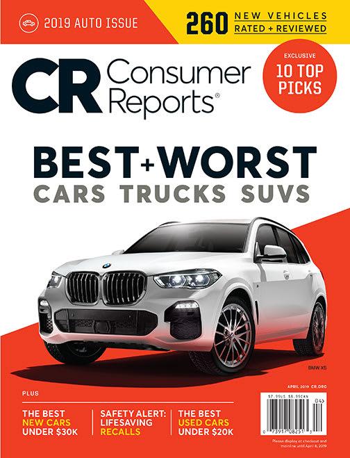 Consumer Reports Best Cars 2020 Consumer Reports Magazine
