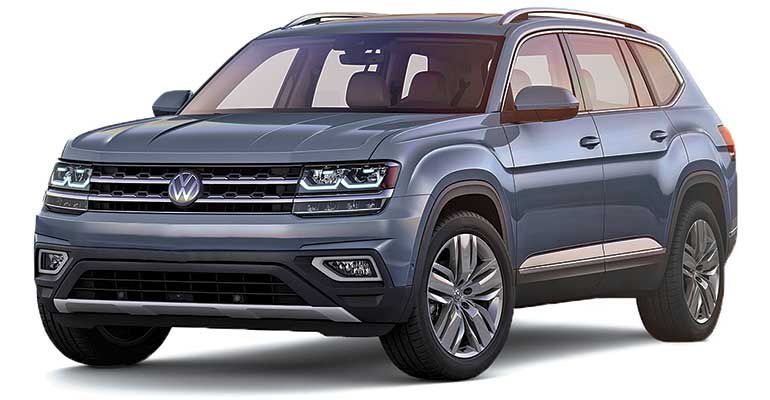 Least reliable cars: Volkswagen Atlas.