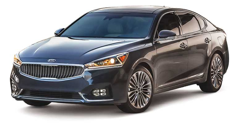 Least reliable cars: Kia Cadenza.