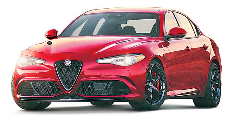 Least reliable cars: Alfa Romeo Giulia.