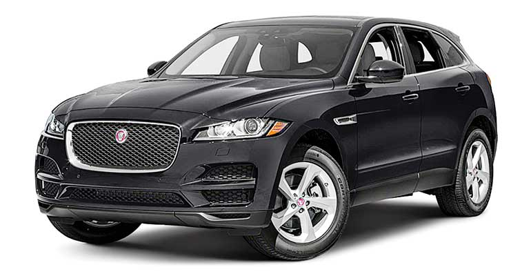 Least reliable cars: Jaguar F-Pace.