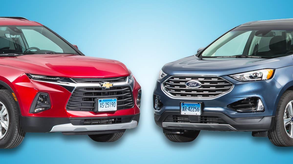 Face-Off: Chevrolet Blazer vs. Ford Edge